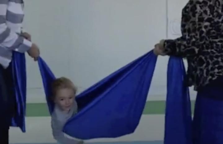 """Blue Blanket"" Swinging"