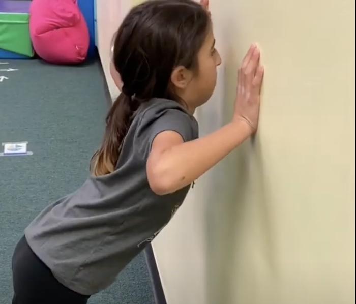 Wall Pushups